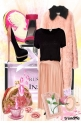 Lady pink Vintage