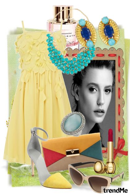 Yellow and Turquoise, By Performance