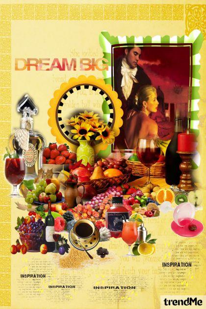 Dreams, Flavours, Colors, Inspiration