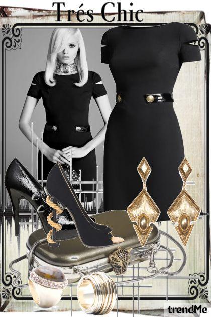 Très Chic, Black Dress