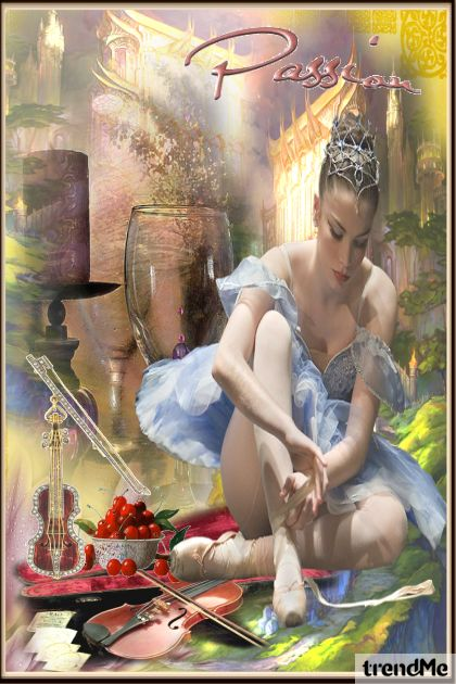 Passion of a ballerina: the dance!