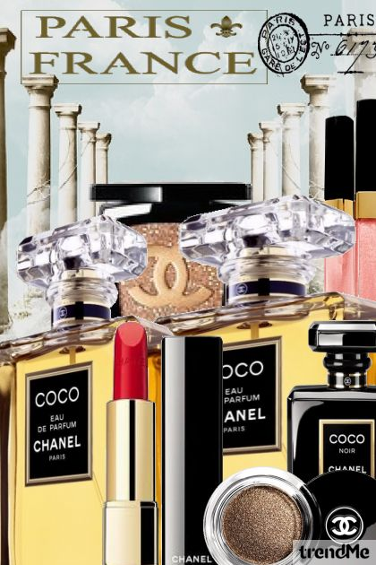 Beauty with Coco Chanel- Fashion set