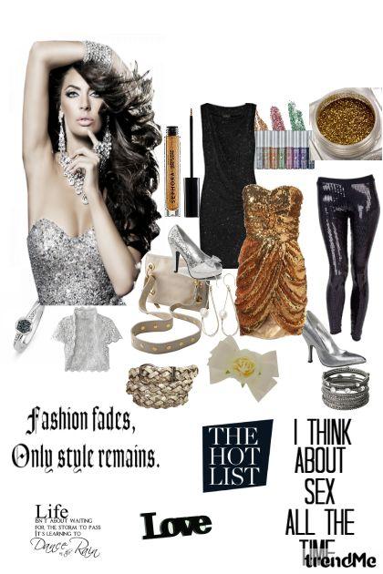 Glitter..My love fashion!