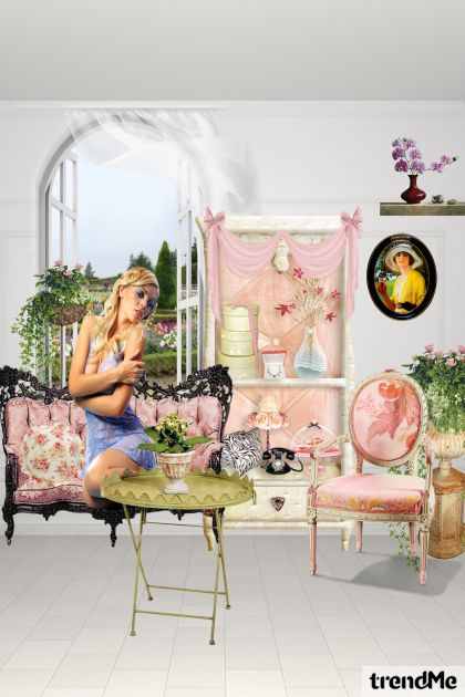 My fashion house pink and sweet!