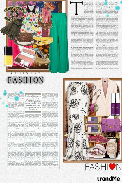 fashion magazine ..