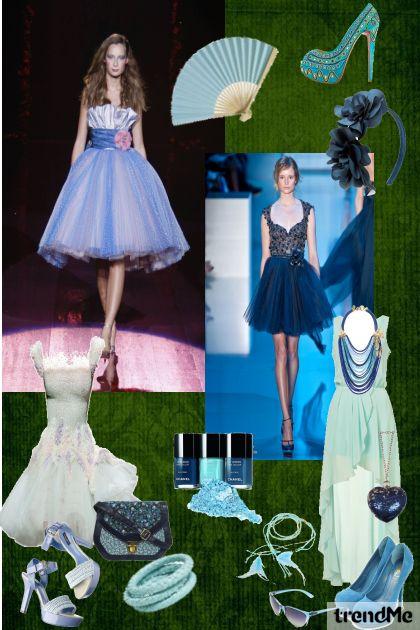 Light blue...!