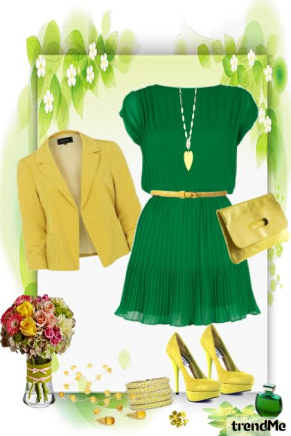 Spring - Green Yellow