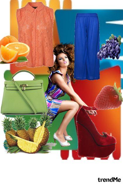 u bojama voća