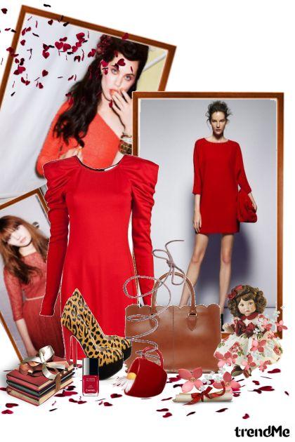sve volimo crvene haljine