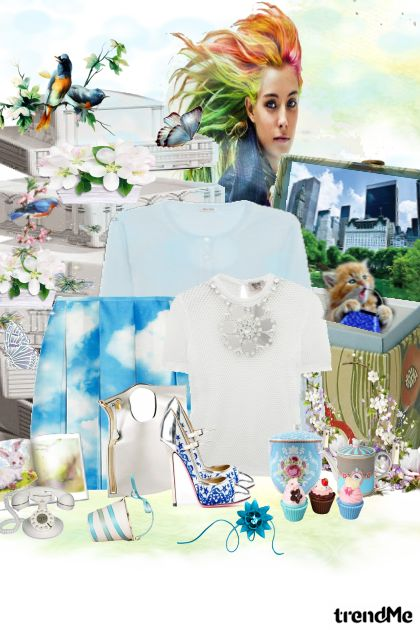 Sve draži proleća- Combinaciónde moda