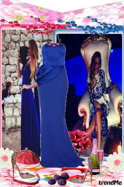 Plava haljina....