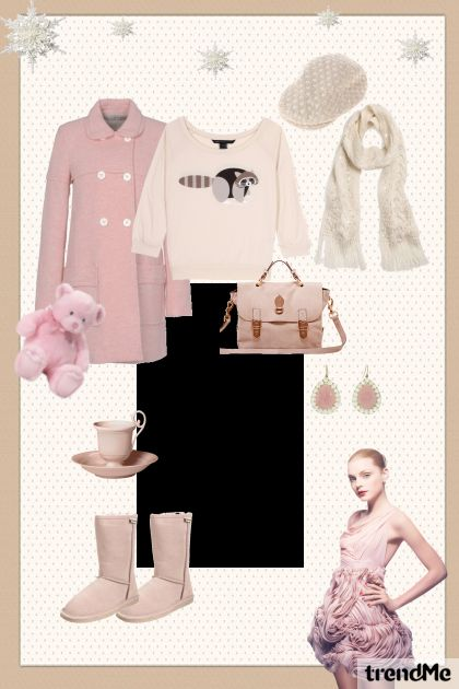Casualy in pink