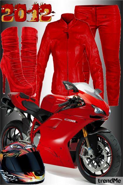 Sexy moto-oblačila