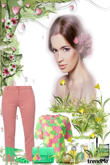 I'love pink from collection Pomlad kolekcija by Natallie
