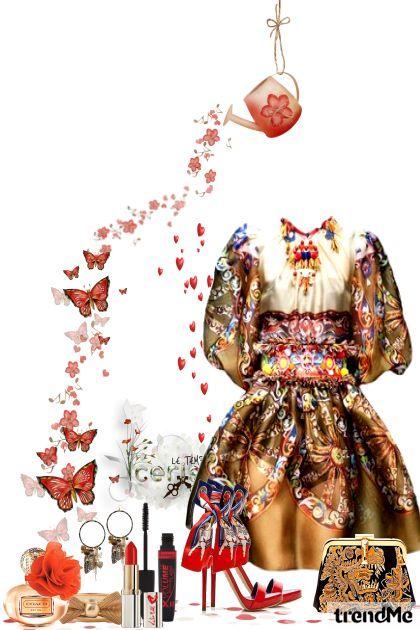 Ples metulja dalla collezione Poletje 2017 di Natallie