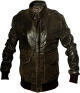 Clothes/footwear details A2 Aviator Distressed Brown Leather Jacket for Mens (Jacket - coats)