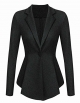 Clothes/footwear details ACEVOG Blazers for Women Business Casual Formal Long Sleeve One Button Office Work Blazer Jacket (Dresses)