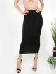 Clothes/footwear details Bodycon Tea Length Dress (Skirts)