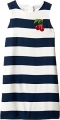 Clothes/footwear details Dolce & Gabbana Kids Womens Stripe With Cherry Dress (Big Kids) (Dresses)