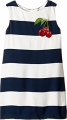 Clothes/footwear details Dolce & Gabbana Kids Womens Stripe with Cherry Dress (Toddler/Little Kids) (Dresses)