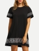 Clothes/footwear details Embroidered Swing Tee Dress (Dresses)