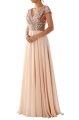 Clothes/footwear details MACloth Cap Sleeve V Neck Sequin Chiffon Bridesmaid Dress Formal Evening Gown (Dresses)