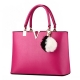 Clothes/footwear details Office Womens PU Leather Shoulder Bags Top-Handle Handbag Tote Purse Bag (Bag)