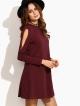 Clothes/footwear details Open Shoulder Swing Dress (Dresses)
