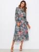 Clothes/footwear details Shirred Waist Dress With Liner Slip Dress (Dresses)