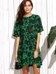 Clothes/footwear details Tropical Print Swing Dress (Dresses)