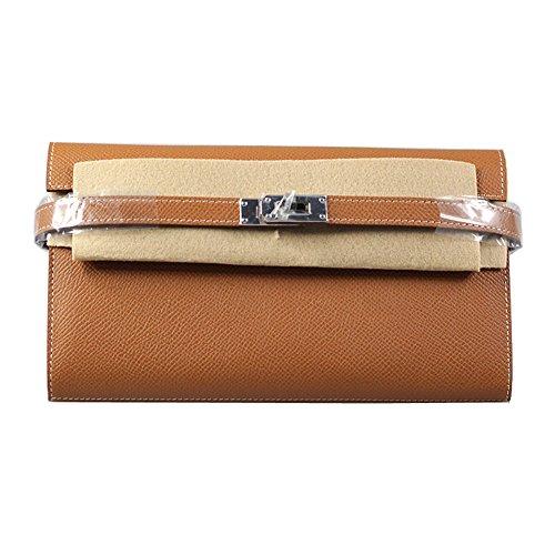 ddfe9fbc91b0 Ainifeel Wallets - Anifeel Women's Padlock Genuine Leather Wallets Trifold