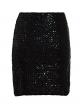 Clothes/footwear details Anna-Kaci Womens Vegas Night Out Sleek Stretch Shiny Sequin Mini Pencil Skirt (Skirts)