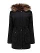 Clothes/footwear details Asskdan Women's Hooded Down Parka Coat with Faux Fur Lined Long Hoodie Jacket Warm Winter Coat (Outerwear)