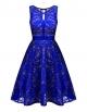 Clothes/footwear details BBX Lephsnt Lace Floral Cocktail Dress Women's Vintage Party Formal Swing Dress (Dresses)