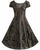 Clothes/footwear details BIUBIU Women's Plus Size Vintage Lace Embroidered Party A Line Dress XL-5XL (Dresses)
