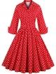 Clothes/footwear details Babyonline Retro Vintage Women Dresses 1950s Rockabilly Audrey Hepburn Gown (Dresses)