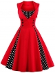 Clothes/footwear details Babyonline Women Vintage 1950s Polka Dot Party Cocktail Dresses (Dresses)