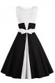 Clothes/footwear details Babyonlinedress Seeveless Belted Waist Vintage Rockabilly Swing Cocktail Dress (Dresses)