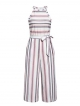 Clothes/footwear details BerryGo Women's Casual Sleeveless Striped Jumpsuit Halter Wide Leg Pants Romper (Pants)