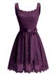 Clothes/footwear details BeryLove Women's Floral Lace Bridesmaid Dress Short Prom Cocktail Party Dress (Dresses)
