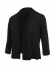 Clothes/footwear details Beyove Women's 3/4 Sleeve Casual Work Office Blazer Jacket Open Front Knit Bolero Stretchy Lightweight Crop Cardigan (Shirts)