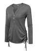 Clothes/footwear details Beyove Womens Long Sleeve Thermal Cotton Henley Casual T-Shirt (Shirts)