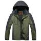 Clothes/footwear details Bifast Men Casual Patchwork Mountain Waterproof Ski Jacket Hooded Windproof Coat Climbing Jackets (Outerwear)