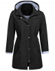 Clothes/footwear details Bifast Women Lightweight Waterproof Hooded Active Outdoor Rain Jacket (Outerwear)