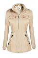 Clothes/footwear details Bifast Women's Zip Up Versatile Military Anorak Jacket Hooded with Pockets M-XXXL (Outerwear)