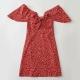 Clothes/footwear details Bohemian safflower printed bow halter dr (Dresses)