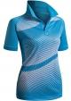 Clothes/footwear details CLOVERY Women's Active Wear POLO Shirt Short Sleeve Dot Pattern (T-shirts)