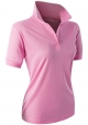 Clothes/footwear details CLOVERY Women's Sport Wear 2-Button Polo Short Sleeve Shirt (T-shirts)