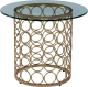 Clothes/footwear details Carnaby Round Side Table (Uncategorized)