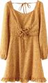 Clothes/footwear details Chest strap ruffle dress (Dresses)